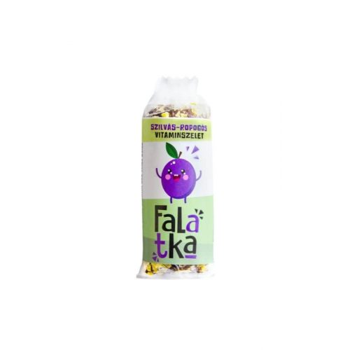 Falatka - Szilvás-Ropogós vitaminszelet 37g (Laktózmentes, gluténmentes,  vegán, nyers)