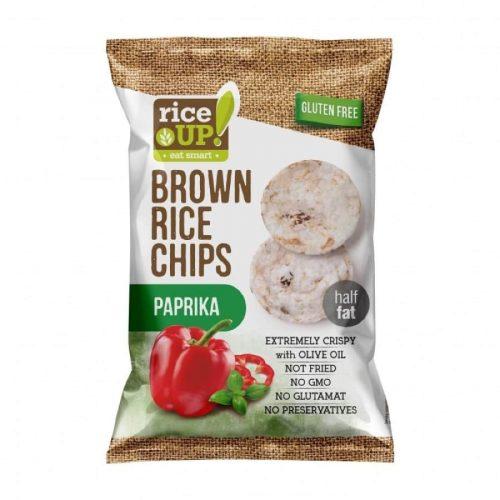 Rice Up paprikás rizs chips 60g