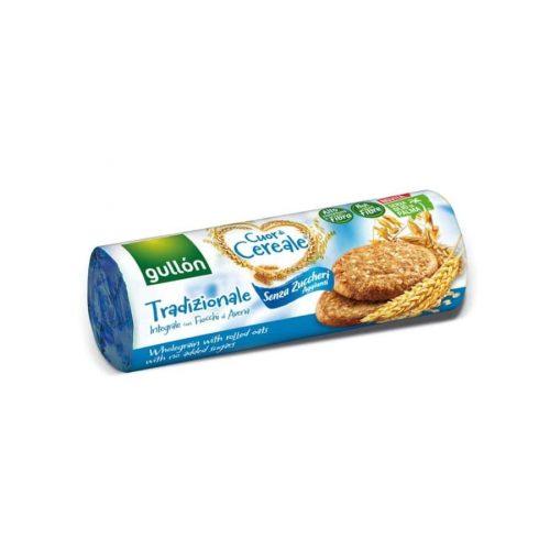 Gullón Tradizionale - élelmi rostban gazdag keksz hozzáadott cukor nélkül 280g