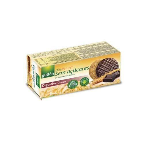 Gullón Digestive Choco - cukormentes, korpás, csokiba mártott keksz 270g