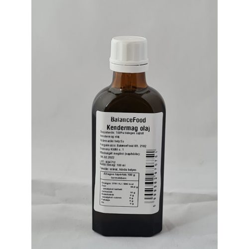 Kendermagolaj 100 ml
