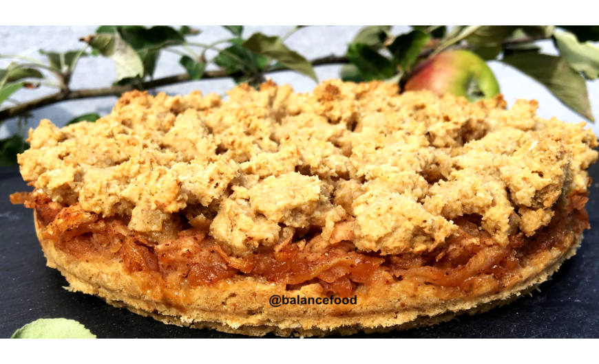 Diétás almás pite