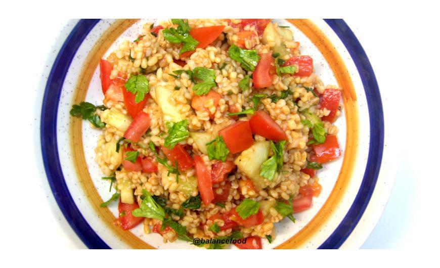 Kisir recept, vagyis a  török bulgur saláta